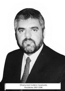 07 - GILVANY JOSÉ CORDEIRO CAVALCANTE - PRESIDENTE 1997-1998